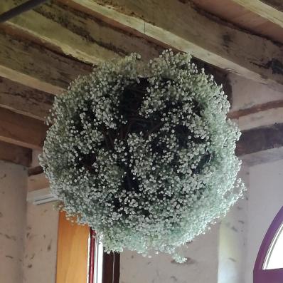 Décoration florale salle de mariage